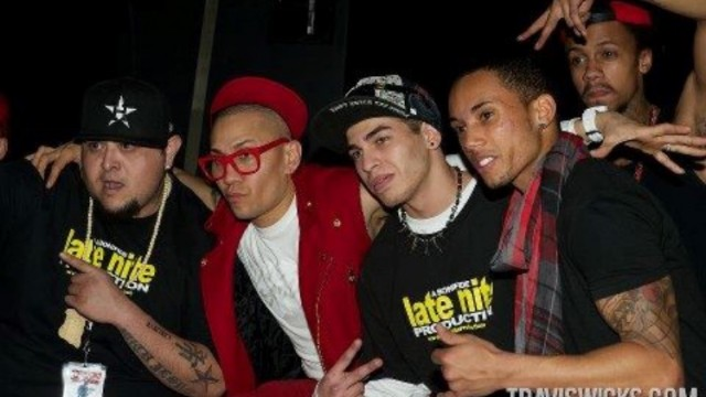 Taboo from the black eyed peas, when I opened up for him