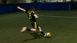 Super talented 9 year old English Footballer