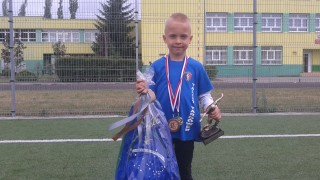 7-year-old footballer
